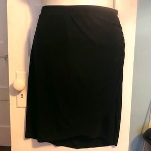 Lane Bryant Collection Ruched Side Pencil Skirt 22